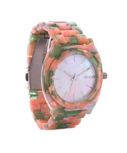 Nixon | Часы Time Teller Acetate Mint Julep