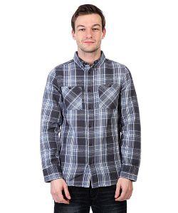 Altamont | Рубашка В Клетку Binary Ls Flannel Ash
