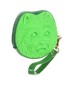 ADAMO   Сумка Женская 3d Shi Tzu Neon Green