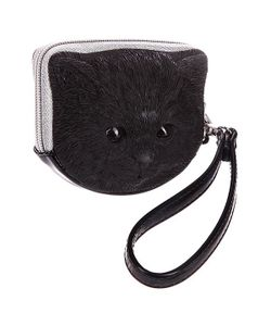ADAMO   Сумка Женская 3d Tuna Kitten Black Nickel Puller