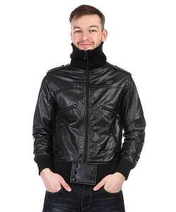 Neff | Куртка Кожаная Milan Ten Black