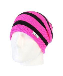 Neff | Шапка Носок Daily Stripe Pink/Black