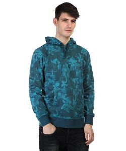 Huf | Кенгуру Floral Pullover Hood Navy Floral