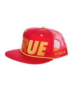 Truespin | Бейсболка С Сеткой True Trucker Red