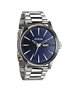 Nixon | Часы Sentry Ss Blue Sunray