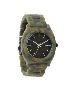Nixon | Часы Time Teller Acetate Matte Black/Camo