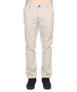 Quiksilver | Штаны Everyday Chino Ndpt Plaza Plaza Taupe