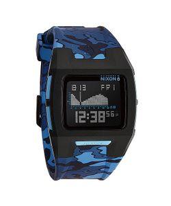 Nixon | Часы Lodown Ii Black/Blue Camo