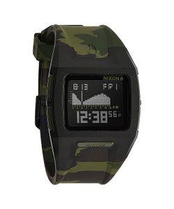 Nixon | Часы Lodown Ii Black/Green Camo