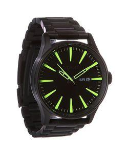 Nixon | Часы Sentry Ss All Black/Lum