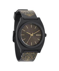 Nixon | Часы Time Teller P Black/Gold Ornate