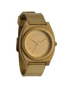 Nixon | Часы Time Teller P Metallic Gold/Beetlepoint