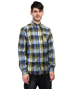 Marmot | Рубашка В Клетку Doheny Flannel Peak Blue