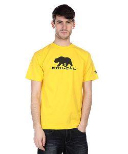 Nor Cal | Футболка Black Bear Yellow