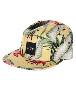 Huf | Бейсболка Пятипанелька Birds Of Paradise Volley Yellow