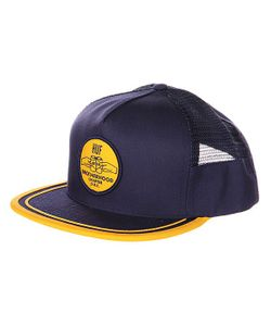 Huf | Бейсболка Brotherhood Side Mesh Snapback Navy