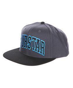 Fourstar | Бейсболка Arched Starter Char/Black
