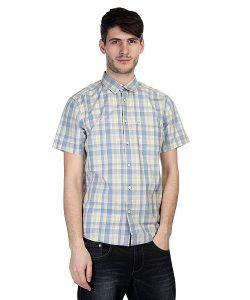 Quiksilver | Рубашка В Клетку Helsby Wvtp Bjn2 Faded Denim