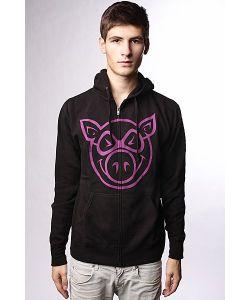 Pig | Толстовка Классическая Basic Black/Purple