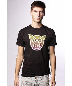 Pig | Футболка Tv Slim Black