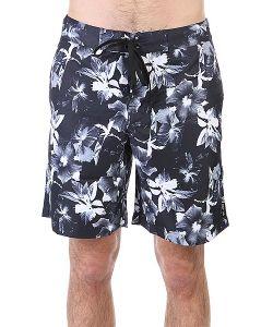 Huf | Шорты Пляжные Floral Boardshort Black Floral