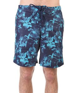 Huf | Шорты Пляжные Floral Boardshort Navy Floral