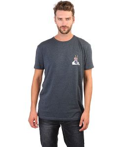 Quiksilver | Футболка Sspretepeacecav Brqh Dark Denim Heather