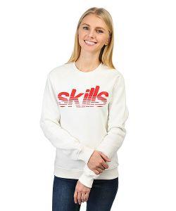 Skills | Толстовка Классическая Женская Stripes Cream
