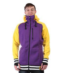 Shweyka   Толстовка Сноубордическая Exception Zip Yellow/Purple