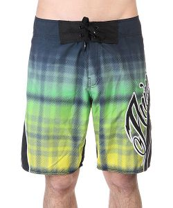 Animal | Шорты Пляжные Bonepart Swim Black/Green/Yellow