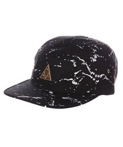 Huf | Бейсболка Splatter Metal Triangle Volley Black