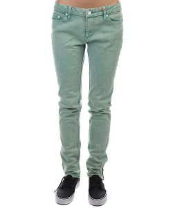 Insight | Джинсы Узкие Skinny Stretch Ankle Biter Emerald Wash