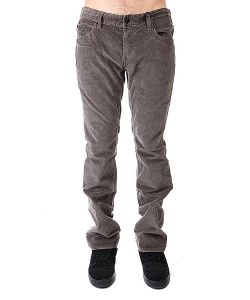Fallen | Джинсы Прямые Thomas Signature Cords Dark Grey