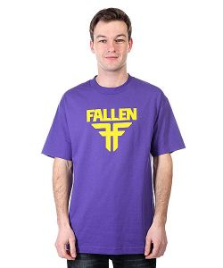 Fallen | Футболка Insignia Logo Purple/Yellow
