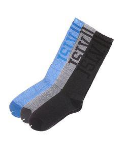 Jslv   Носки Высокие Hesh Socks Black/Grey/Blue