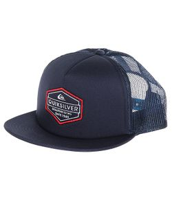 Quiksilver | Бейсболка С Сеткой Marbleson Navy Blazer