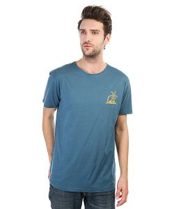 Quiksilver | Футболка Surfneverdies Indian Teal