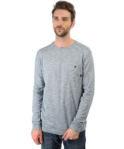Quiksilver | Джемпер Lindow Crew Indian Teal Heather