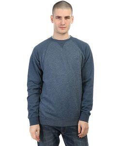 Quiksilver | Толстовка Свитшот Everydaycrew Dark Denim Heather