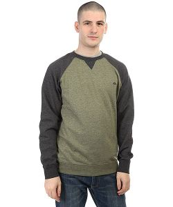 Quiksilver | Толстовка Свитшот Everydaycrew Four Leaf Clover Hea