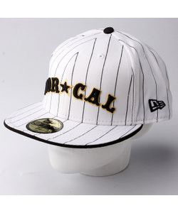 Nor Cal | Бейсболка New Era Nautical Newera White/Black Pinstripe