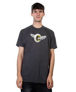 Proto Scooters | Футболка Wings Tee Charcoal
