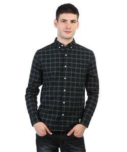 Penfield   Рубашка В Клетку Hanover Check Shirt Navy