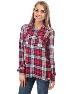 Roxy   Рубашка В Клетку Plaidonyou Hibiscus Pinetree