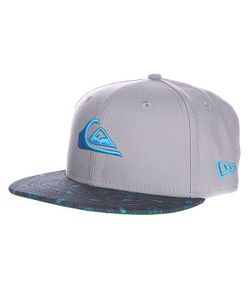 Quiksilver | Бейсболка New Era Scallop Newera Grey/Blue