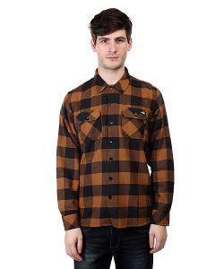 Dickies | Рубашка В Клетку Sacramento Brown