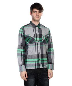 Innes | Рубашка В Клетку Dwight Kelly Green