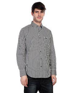Innes | Рубашка В Клетку Trenton Black