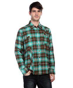 Innes | Рубашка В Клетку Mersey Brown