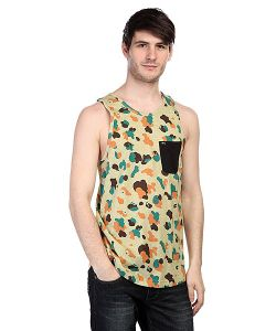 K1X | Майка Pacific Pocket Tank Top Camo/Black